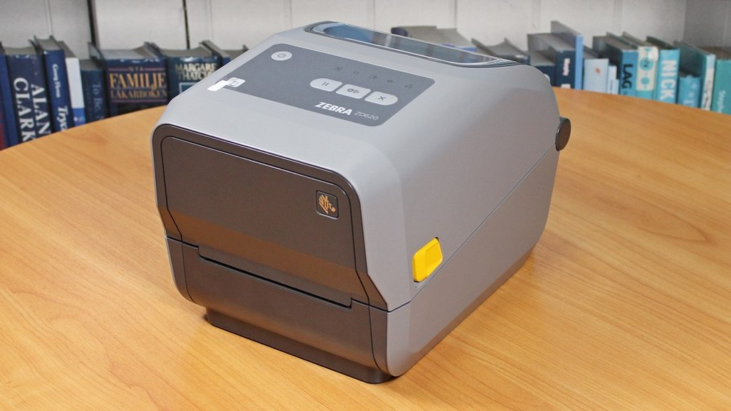 "Zebra ZD620 на тестировании в ""Интер АйДи"""